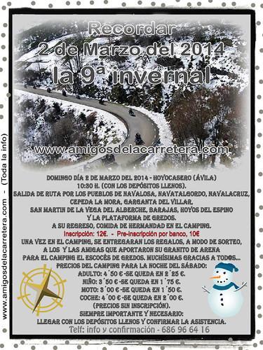 IX Invernal Amigos de la Carretera - Hoyocasero