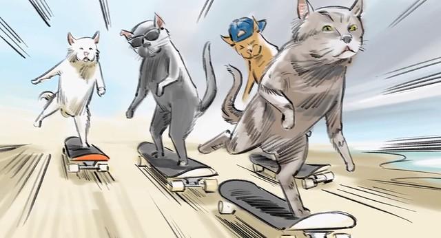 TEASING SB CAT
