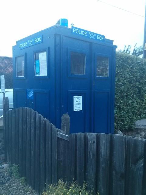 TARDIS sheds Stiffkey Norfolk