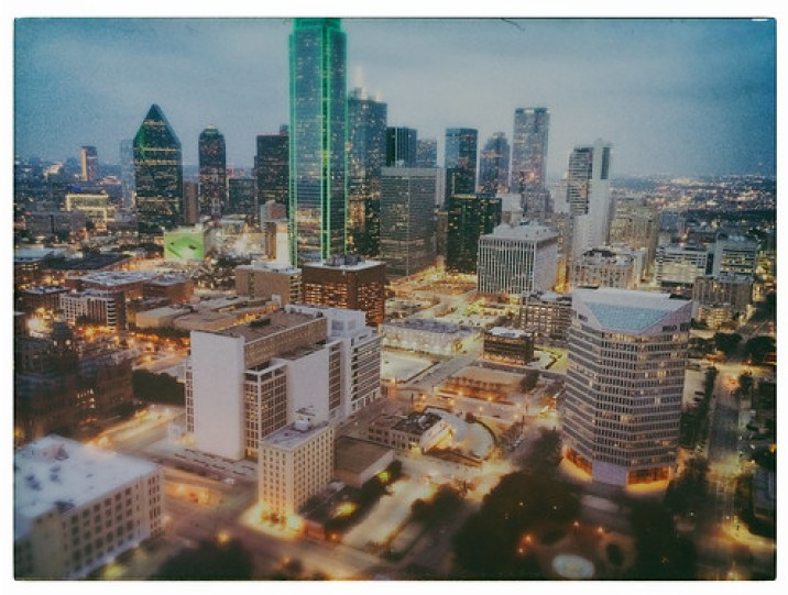 Skyline Dallas Texas Dusk Magic Hour 20142 by Dallas Texas Photographer David Kozlowski