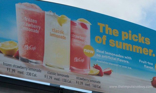 McDonald's Strawberry Lemonade