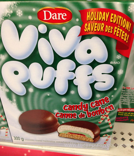 Holiday Edition Dare Viva Puffs Candy Cane