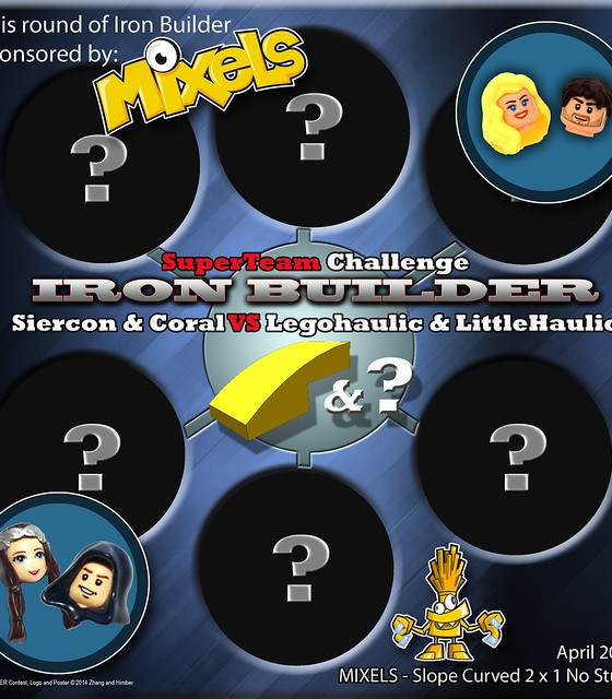 Iron Builder 3.0 - Round 12 - Siercon & Coral VS Legohaulic VS Littlehaulic