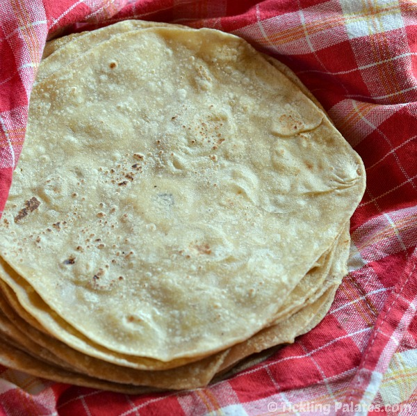 Mexican Whole Wheat tortillas