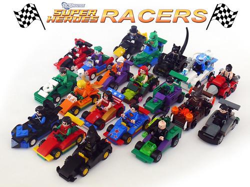 DC Superheroes Racers