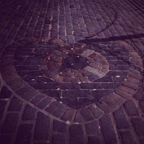 A problem of perception - a certainty of blood | The Heart of Midlothian. Royal Mile. #edinburgh