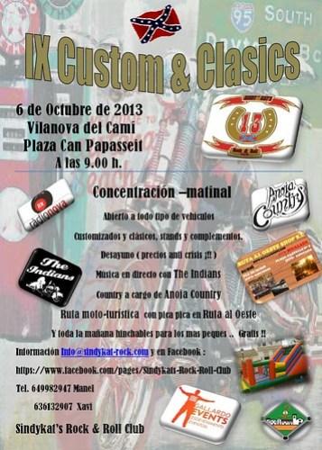 IX Custom&Clasics - Vilanova del Camí