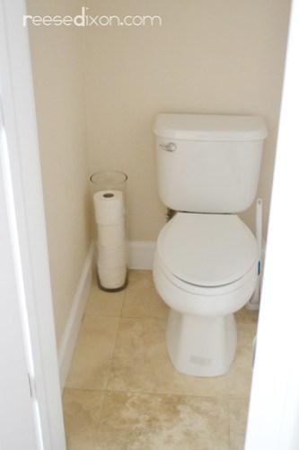 Toilet Paper Storage Solution