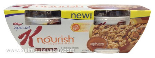 Kellogg's Special K Maple Brown Sugar Crunch Nourish Hot Cereal