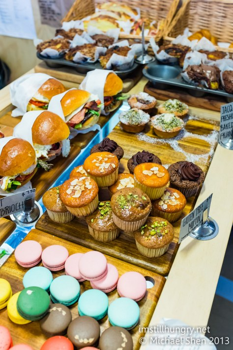 Devon cafe assorted baked goods