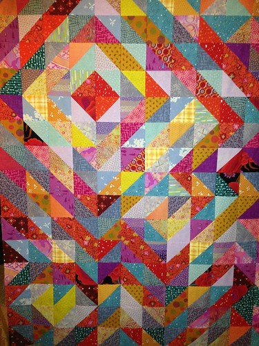 psychedelic half square triangle top