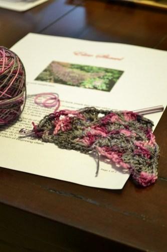 WIP: Elise scarf