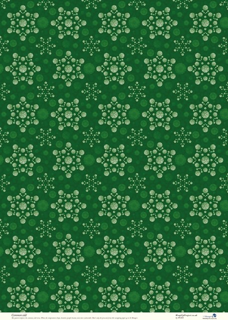 WRAPING PAPER GREEN