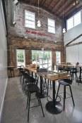 Bar seating | Main Street Brewing