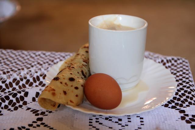 Breakfast in Tanzania