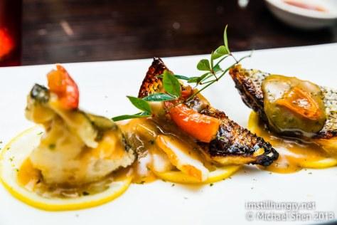 Grilled silver cod Jazushi