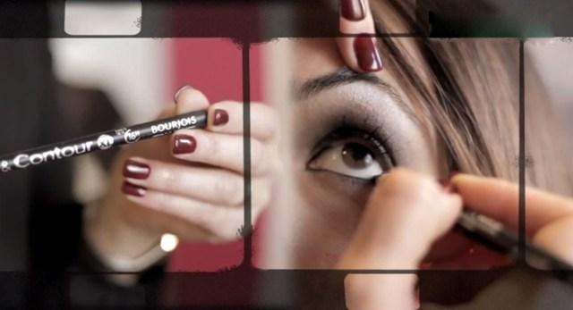 beautips barbara crespo sophisticated make-up makeup maquillaje sofisticado maquillaje beauty video report beautips.com bourjois