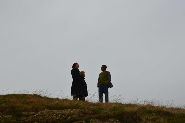 Blogger auf Helgoland
