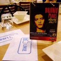 Max's Restaurant and Bruno Mars