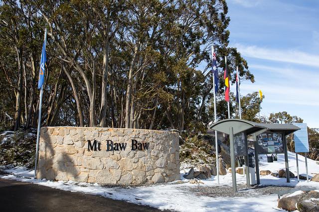 Mount Baw Baw entrance gate