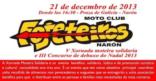 V Xornada Moteira Solidaria - Narón