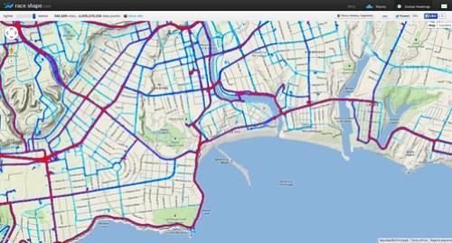 Santa Cruz heatmap