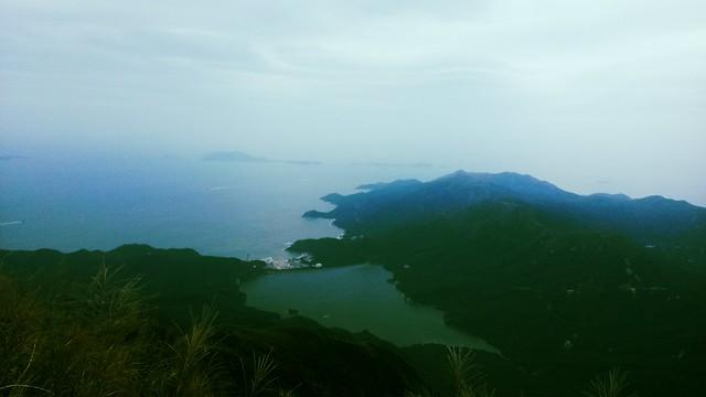 View from Lantau Peak