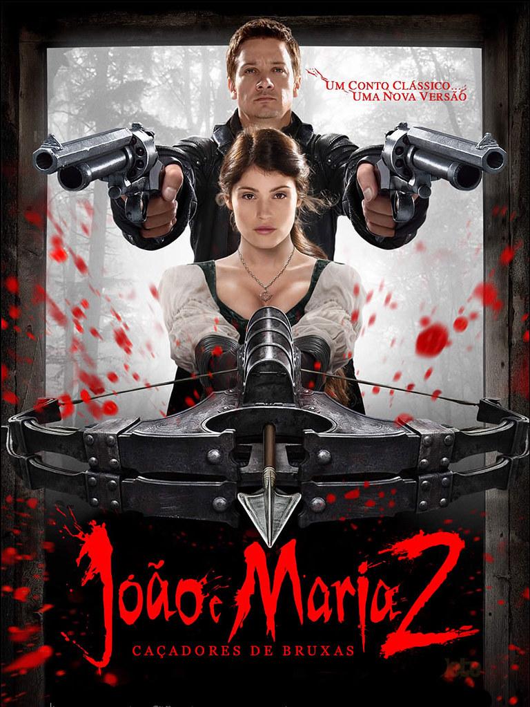 Poster do filme João e Maria: Caçadores de Bruxas 2