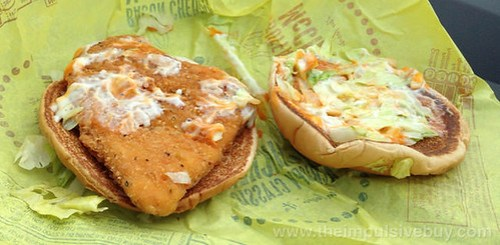 McDonald's Buffalo Ranch McChicken 3