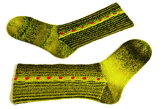 Stuffed Olives Socks
