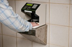Nuclear Plant Security - Hand Scanner