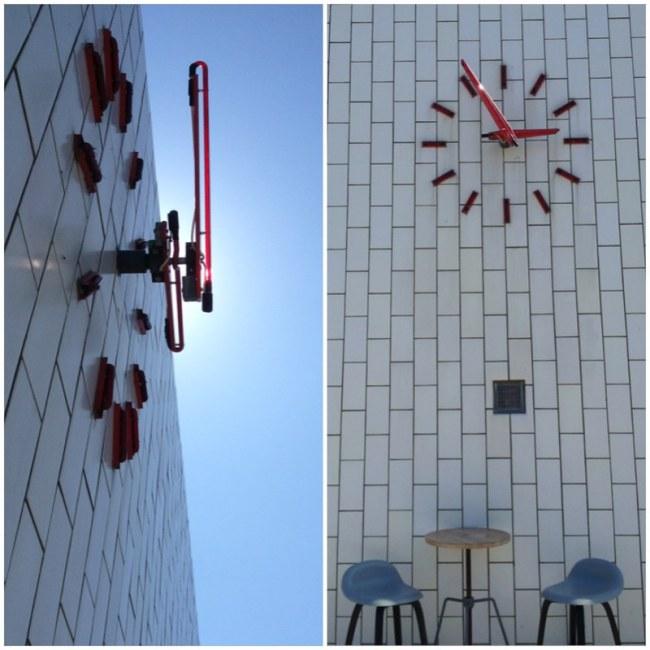 bensinmack designad av Arne Jacobsen