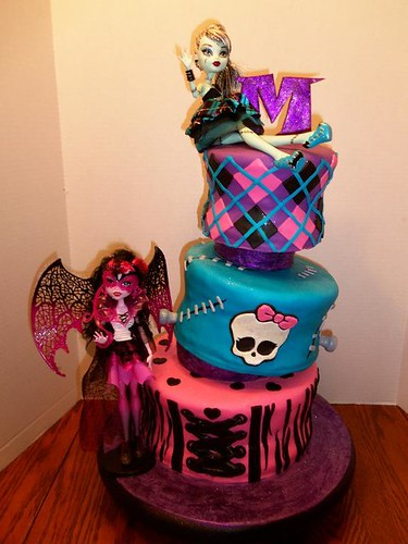 Pasteles de Monster High