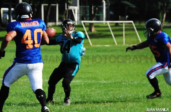 Philippine Punishers, the country's internationally competitive American Football team prepares for June 29 game against Guam All-Stars.