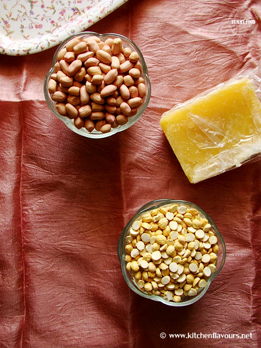 Peanut-Fried Gram Chikki/Brittle/Balls
