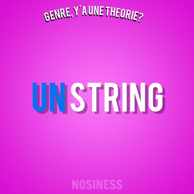 GAT Girl String
