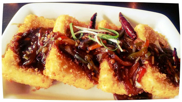 Tofu steak - PF Chang's