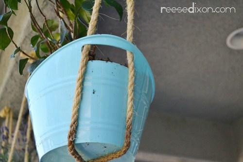 Hanging Basket Tutorial Step 2