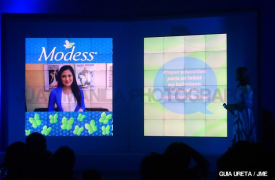 Julie Anne San Jose with her #MakeYourMove video message.