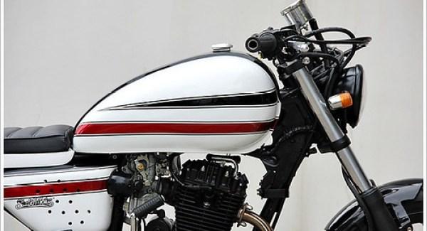 Honda GL200 White Racer por StudioMotor 04