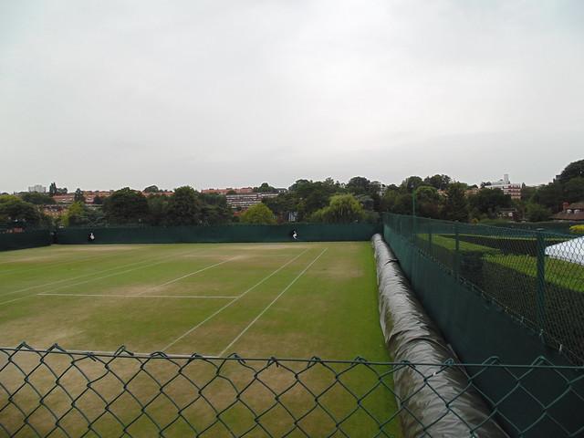 Empty practice courts