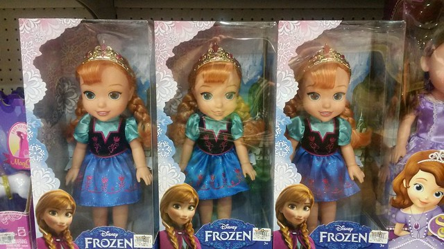 Frozen doll