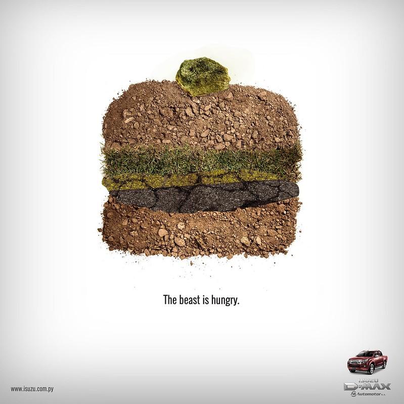 Isuzu - The Beast is Angry Burger