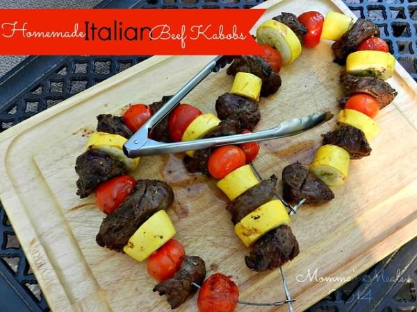 Italian Steak Kabobs (6)p