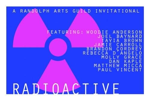 RADIOACTIVE logo with artists