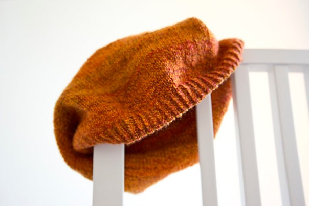 A Hat From Handspun Yarn
