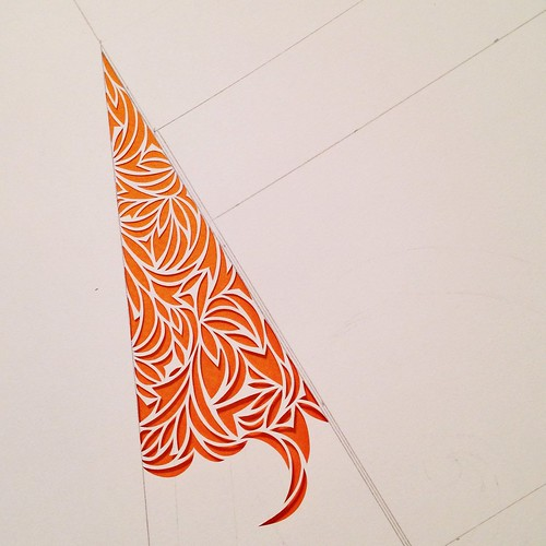 Work in progress paper cut design