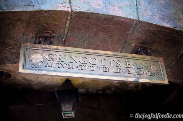 Harry Potter World Gringotts ATM