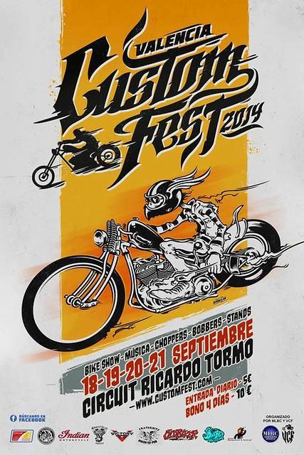Valencia Custom Fest - Circuito Ricardo Tormo