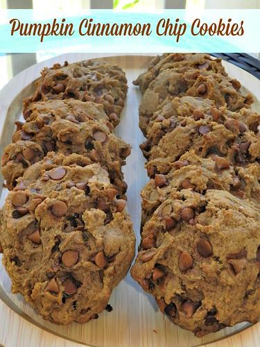 Pumpkin Cinnamon Chip Cookies2